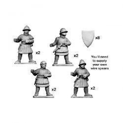 Men-at-Arms with spear & shield