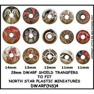 Dwarf Shield Transfers 4