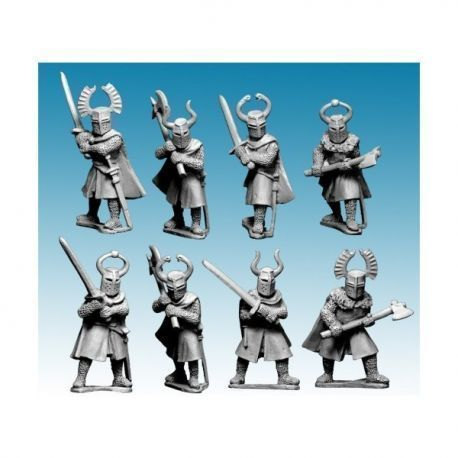 Dismounted Teutonic Knights with Big Weapons