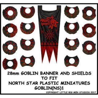 Goblin Banner and Shields 1