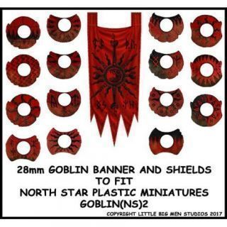 Goblin Banner and Shields 2