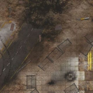 Quarry Zone 2'x 2' (60x60 cm) - FOR WARHAMMER, WARHAMMER 40K AND OTHER WARGAMES