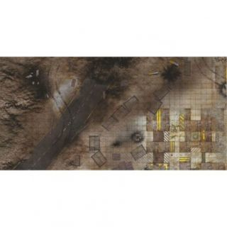 Quarry Zone 6'X3' (180X90CM) - FOR WARHAMMER, WARHAMMER 40K AND OTHER WARGAMES