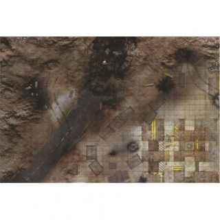 Quarry Zone 6'X4' (180X120CM) - FOR WARHAMMER, WARHAMMER 40K AND OTHER WARGAMES