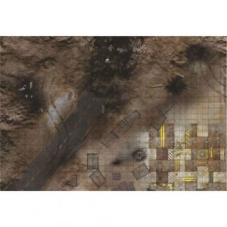 """Quarry Zone PATROL 44""""X30"""" (112X76CM) - FOR WARHAMMER, WARHAMMER 40K AND OTHER WARGAMES"""