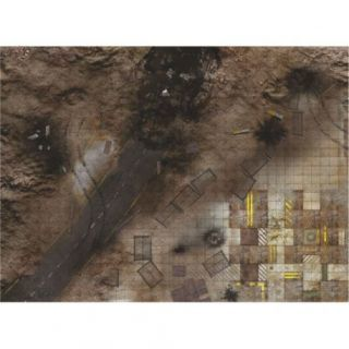 """Quarry Zone SHOCK 44""""X60"""" (112X152CM) - FOR WARHAMMER, WARHAMMER 40K AND OTHER WARGAMES"""