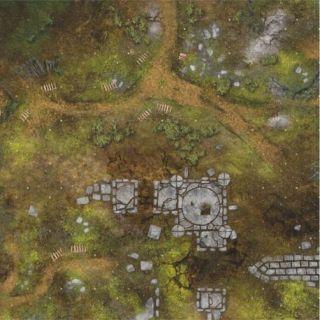 War Fields 2'x 2' (60x60 cm) - FOR WARHAMMER, WARHAMMER 40K AND OTHER WARGAMES