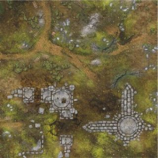 War Fields 3'X3' (90X90CM) - FOR WARHAMMER, WARHAMMER 40K AND OTHER WARGAMES