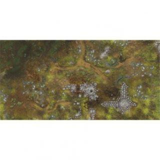 War Fields 6'X3' (180X90CM) - FOR WARHAMMER, WARHAMMER 40K AND OTHER WARGAMES