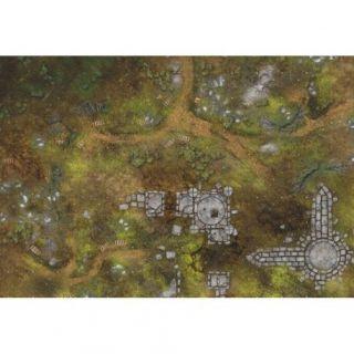 """War Fields PATROL 44""""X30"""" (112X76CM) - FOR WARHAMMER, WARHAMMER 40K AND OTHER WARGAMES"""