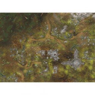 """War Fields SHOCK 44""""X60"""" (112X152CM) - FOR WARHAMMER, WARHAMMER 40K AND OTHER WARGAMES"""