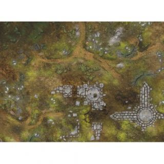 "War Fields KT MATS - 22""X30"" (57X76CM) - FOR WARHAMMER, WARHAMMER 40K AND OTHER WARGAMES"