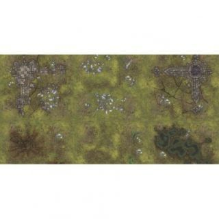 Ruins 6'X3' (180X90CM) - FOR WARHAMMER, WARHAMMER 40K AND OTHER WARGAMES
