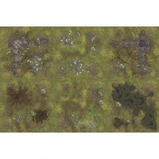 Ruins 6'X4' (180X120CM) - FOR WARHAMMER, WARHAMMER 40K AND OTHER WARGAMES