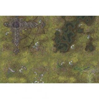 "Ruins PATROL 44""X30"" (112X76CM) - FOR WARHAMMER, WARHAMMER 40K AND OTHER WARGAMES"