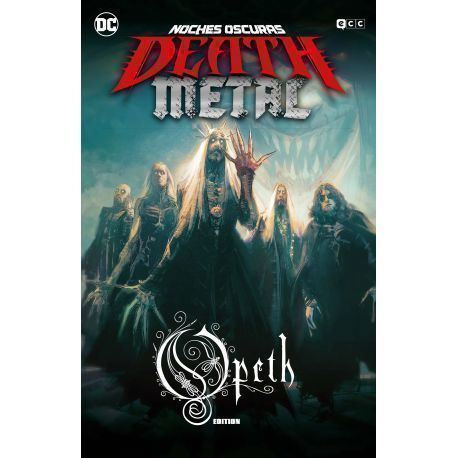 NOCHES OSCURAS: DEATH METAL NÚM. 4 (OPETH BAND EDITION) (RÚSTICA)