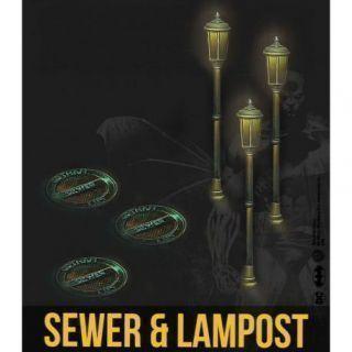 SEWER & LAMPPOST RESIN SET