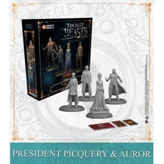 PRESIDENT PICQUERY AND AURORS