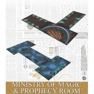 MINISTRY OF MAGIC AND PROPHECY ROOM