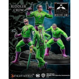 The Riddler Crew Figuras Knight Models (METAL)