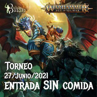 Entrada Individual SIN COMIDA Torneo AoS 27/Junio/21
