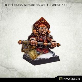 Hospodars Boyarina with great axe (1)