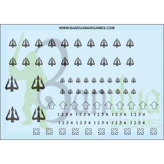Emperador´s Lancers Decal Sheet
