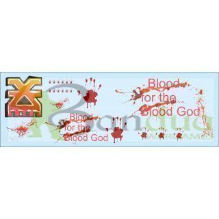 Blood God Graffiti Decal Sheet