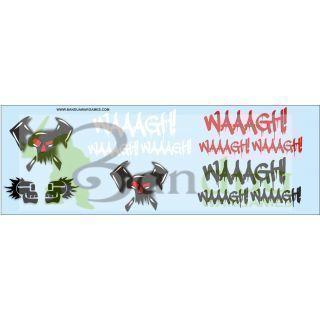 Waaagh! Graffitis Decal Sheet