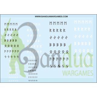 Runes Decal Sheet