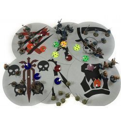 Pack 6 Objective Areas compatible with AoS 3 ed
