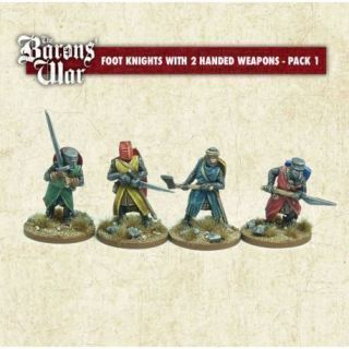Foot Knights with Two Handed Weapons 1