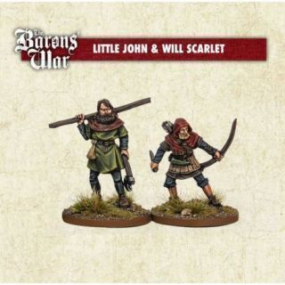 Little John and Will Scarlet