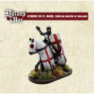 Aymeric de Saint Maur, Templar Master of England