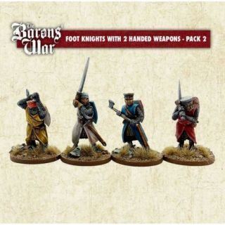 Foot Knights with Two Handed Weapons 2