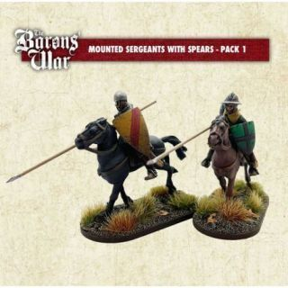 Mounted Sergeants with Spears 1