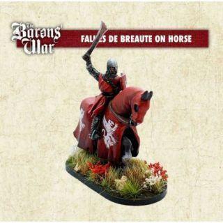 Falkes de Breaute on Horse