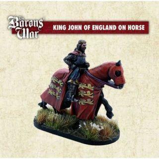 King John of England on Horse