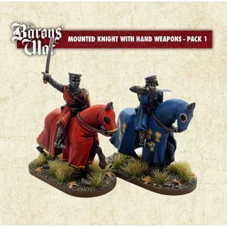 Mounted Knights with Hand Weapons 1