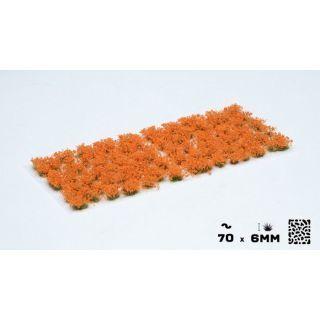 Gamer's Grass Orange Flowers