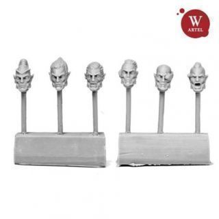 Starborn Ancients Male Heads