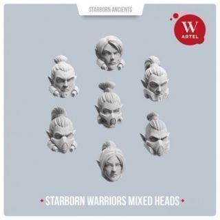 Starborn Warriors Mixed Heads