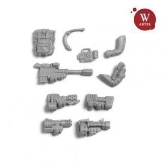Enherjar`s Kamrades Special/Heavy weapon set