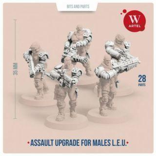 L.E.U. Assault upgrade kit for males
