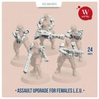 L.E.U. Assault upgrade kit for females
