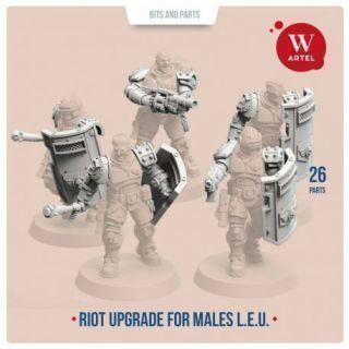 L.E.U. Riot Contol upgrade kit for males