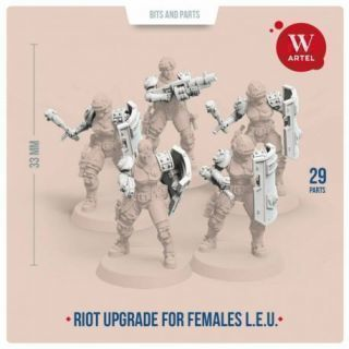 L.E.U. Riot Contol upgrade kit for females