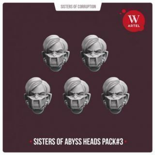 Sisters of Abyss Heads pack2