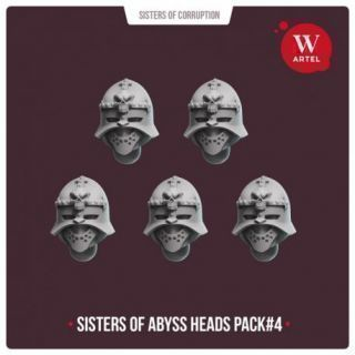 Sisters of Abyss Heads pack3