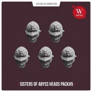 Sisters of Abyss Heads pack4
